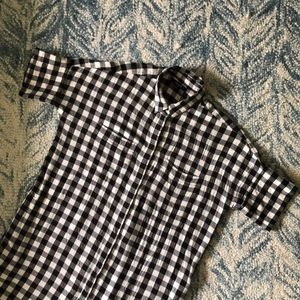 Madewell Buffalo Plaid Courier Dress
